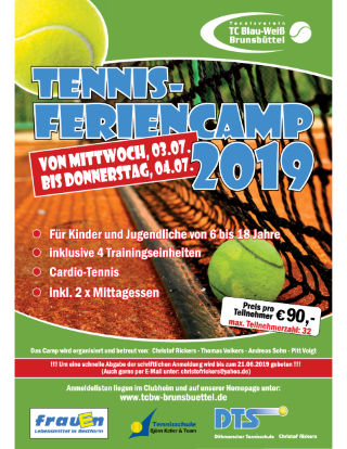 Tennis Ferien Camp Kids (Mobile)